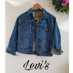 Levi's Jacket size small women's blue jean